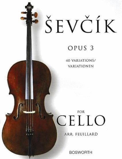 Sevcik Opus 3 Cello